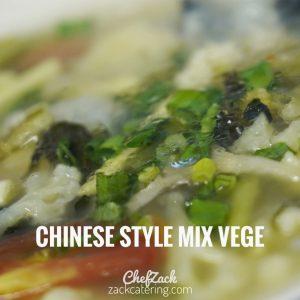 chinese style mix vege