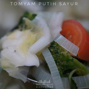 tomyam putih sayur